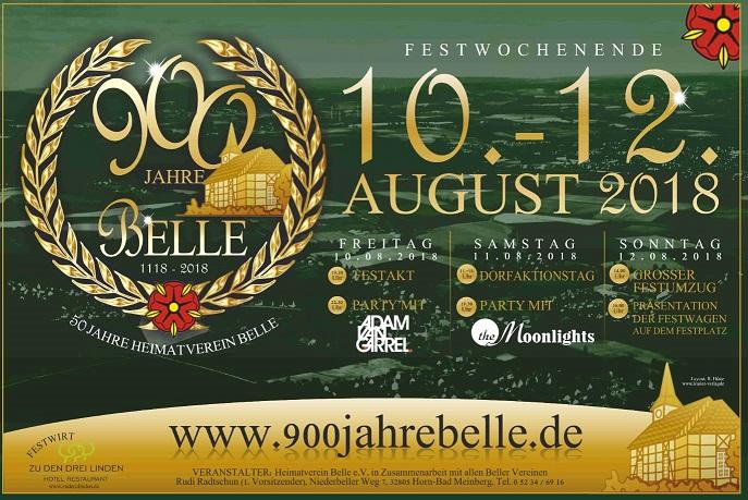 900 Jahre Belle